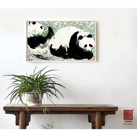 Sinnsa熊猫之二装饰壁画ZSH160519预售