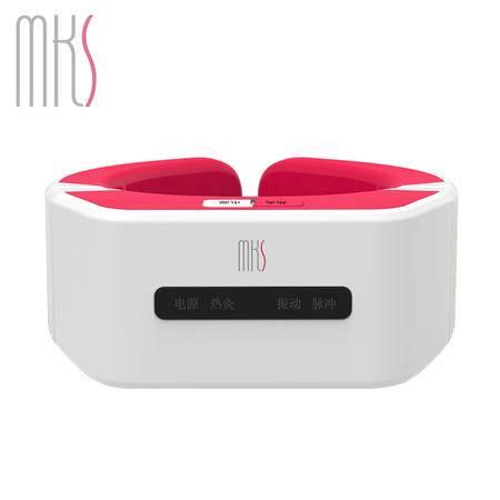 美克斯/MKS颈椎按摩仪 按摩器颈部肩部理疗仪经络智能震动热敷NV8589