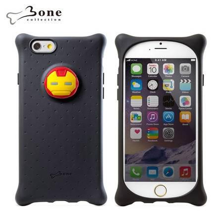 Bone 苹果iphone6 Bubble泡泡保护套 硅胶防撞手机壳 迪士尼漫威复仇者联盟-钢铁侠
