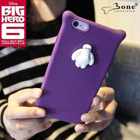 Bone iPhone6 plus Bubble泡泡保护套 硅胶防撞手机壳 迪士尼漫威超能陆战队大白