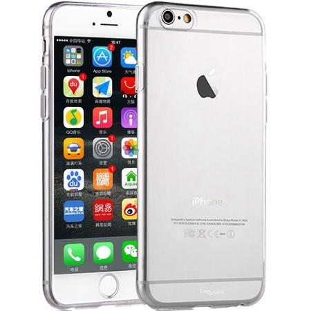 i-mu幻响 TPU苹果iPhone6 极薄隐形透明手机壳保护套 4.7英寸 透明手机保护壳