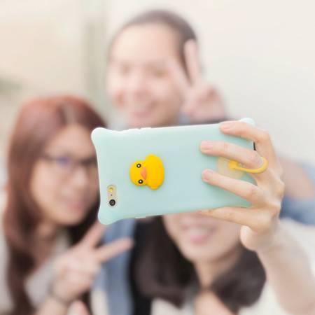 Bone 苹果iPhone6S plus 泡泡 手机壳保护套 硅胶卡通保护壳 5.5英寸