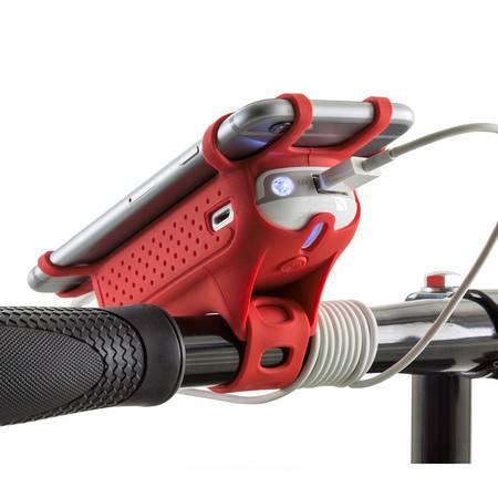 【包邮】Bone 自行车运动移动电源充电宝 手机支撑架 5200毫安