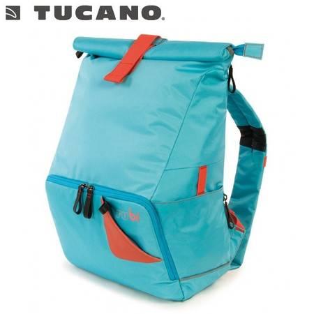 TUCANO托卡诺 14/15.6寸苹果笔记本电脑包休闲双肩背包单车登山包男女BTBK