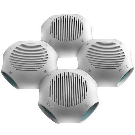 【包邮】i-mu幻响 醛击手 纳米银活性炭除甲醛空气净化器 除味分解甲醛 SOHO套装(4件套)