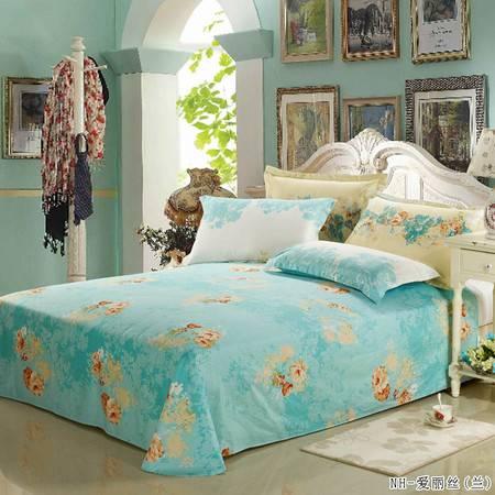 瀚庭-全棉单床单2.3*2.5多款花色随机发货