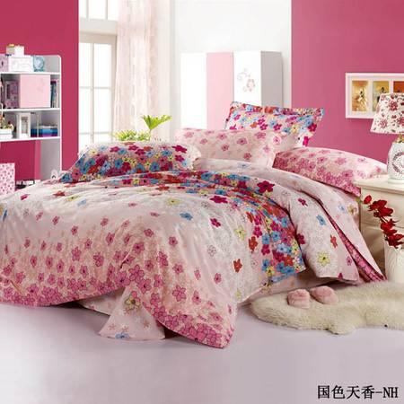 瀚庭-全棉被套2.2*2.4国色天香