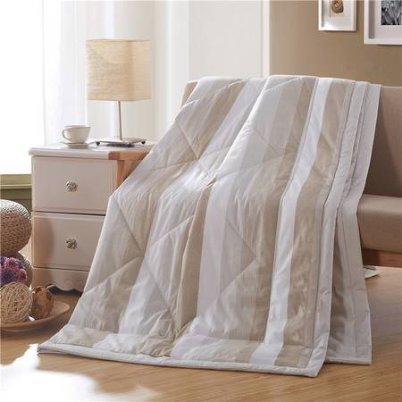 瀚庭-精品全棉夏被空调被-简约格调1.5米