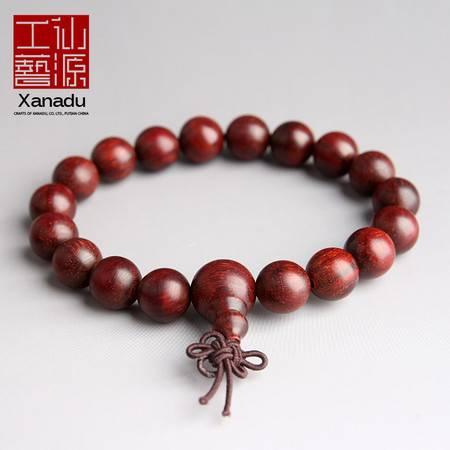 仙源小叶紫檀手串老料高密度佛珠手链女男士10mm/1.0老料红木念珠
