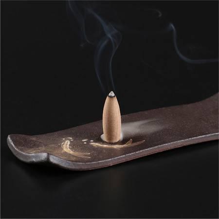 仙源 倒流烟流云玫瑰薰衣草桂花锥体香料 倒流烟香粒空心香塔薰香