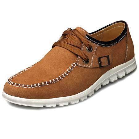 索里奥男士反绒牛皮日常休闲皮鞋2281