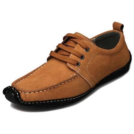 索里奥男士反绒牛皮日常休闲皮鞋5588