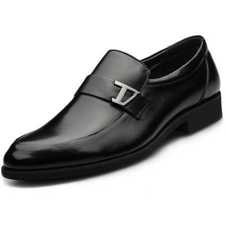 索里奥新款头层牛皮商务正装皮鞋职业鞋10212