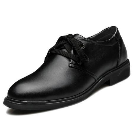 索里奥秋新款男士头层牛皮商务正装鞋男鞋1218