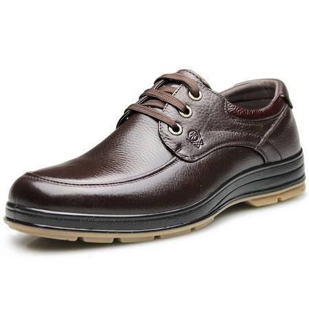 索里奥男式头层软牛皮休闲鞋6122