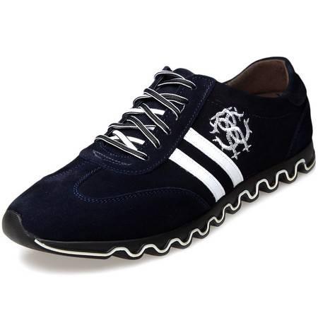索里奥男士反绒牛皮英伦时尚日常休闲鞋 13819