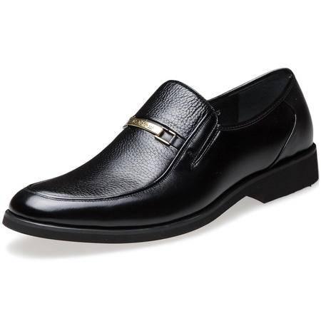 索里奥男士头层软牛皮商务正装鞋 9151-70