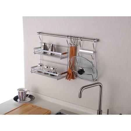 厨欲无限 全能厨房挂件厨卫挂件挂架五金挂钩置物架挂杆 K06