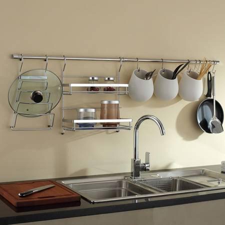 卫欲无限旗下厨欲无限专业厨房挂件套装 厨房置物架 筷子筒T032