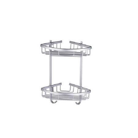 卫欲无限 双层太空铝篮 网篮 卫浴挂件L070-2