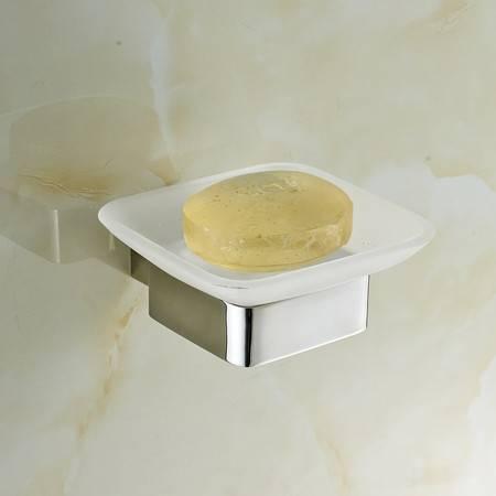 卫欲无限 里诺极简主义系列 镜面304不锈钢卫浴挂件 香皂架 皂碟