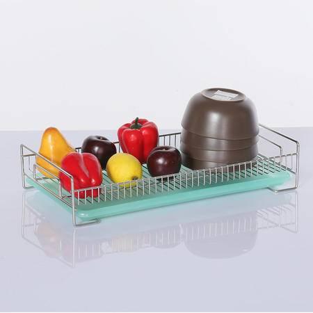 厨欲无限 304不锈钢沥水架沥水托盘碗盘架