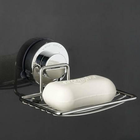 卫欲无限首发 304不锈钢吸盘式浴室挂件 置物架  XP17