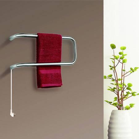 Sharndy想的 电热毛巾架发热浴巾架置物架不锈钢采暖置物杆