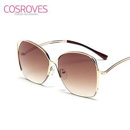 新款镂空猫眼个性前卫男女款太阳眼镜SG15105