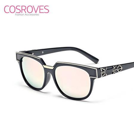 新款彩膜防辐射太阳镜个性前卫男女款墨镜SG15109