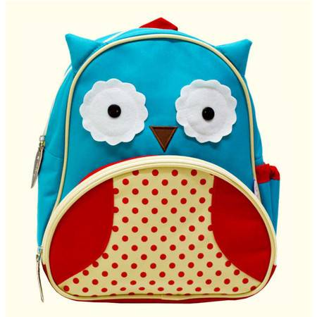 美琦兔 儿童卡通书包系列 '猫头鹰' 款 儿童双肩小背包 小书包