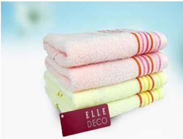 ELLE85091M2 纯棉面巾两条装