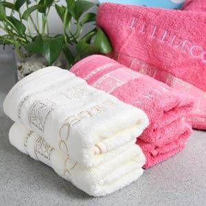 ELLE品味生活 轻柔竹纤维毛巾单条装