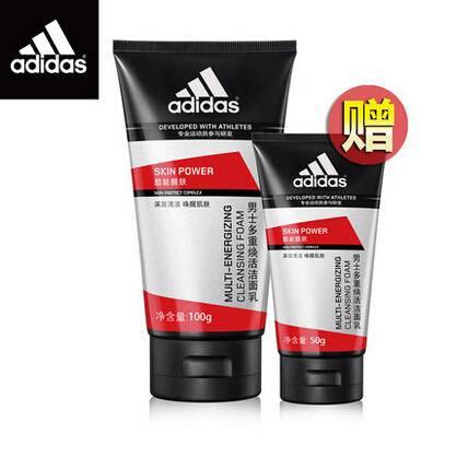 Adidas酷能醒肤多重焕活洁面乳100g+酷能醒肤多重焕活洁面乳50g