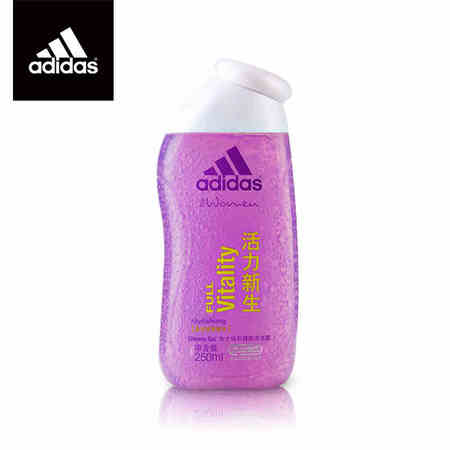 Adidas/阿迪达斯女士焕彩健肤活力新生沐浴露250ml