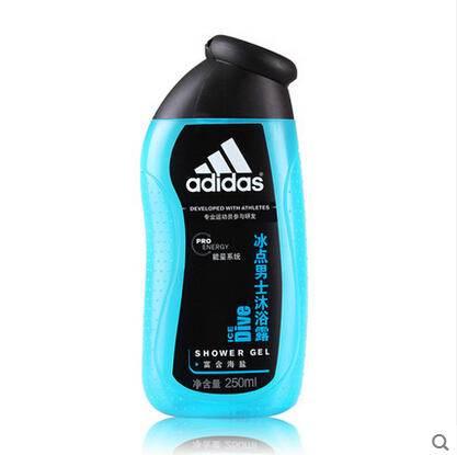 Adidas阿迪达斯男士沐浴露250ml 征服、冰点,纵情