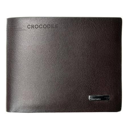 鳄鱼恤男士钱包短款 韩版长款多卡位钱夹皮夹男款手拿包牛皮钱包