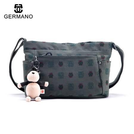 爵玛诺GERMANO旅行户外软包包斜跨小包大容量防水运动包多彩女包女包斜跨包布包