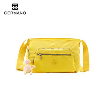 GERMANO爵玛诺斜挎包女单肩包防水休闲手提包韩版猴子包小包包旅行背包女包