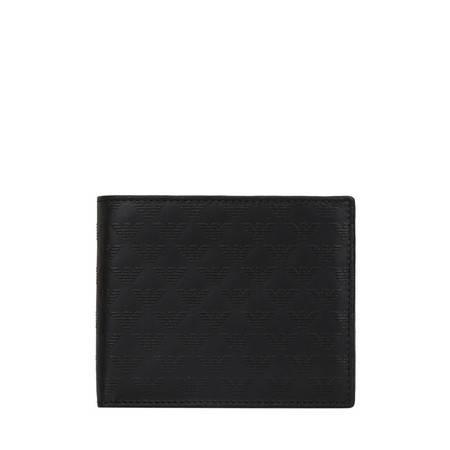【奢殿】E.Armani 阿玛尼 2014专柜新品 经典Logo压纹短款钱夹