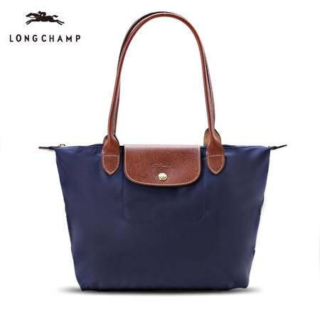 珑骧 Longchamp 女款尼龙折叠包长柄手拎包 多色 2605