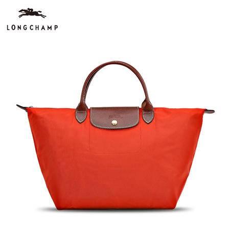 珑骧 Longchamp 女款尼龙折叠包短柄手拎包 1623