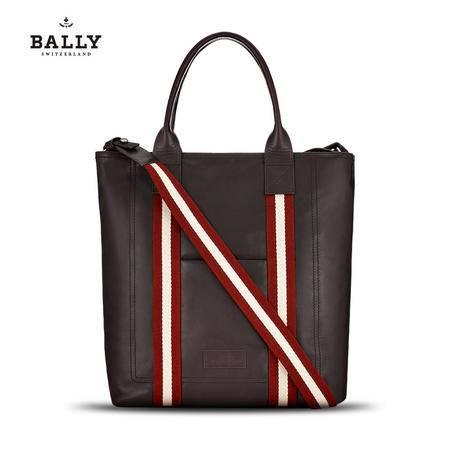 巴利 BALLY 男士手提包TACILO小牛皮织带斜挎公文包 6189964