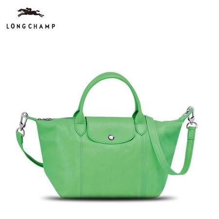 珑骧 Longchamp  女款小羊皮折叠手拎肩背包1512 737
