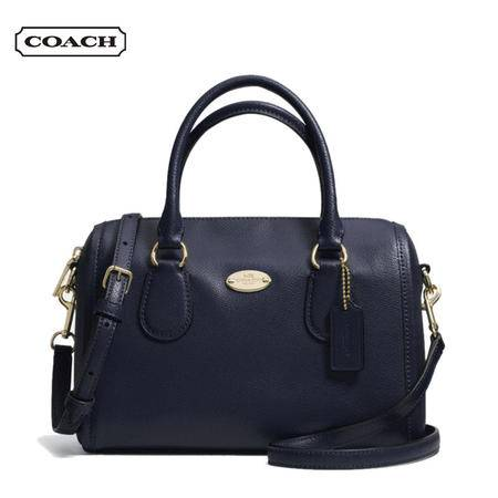 Coach Crossgrain MINI 手拎包#