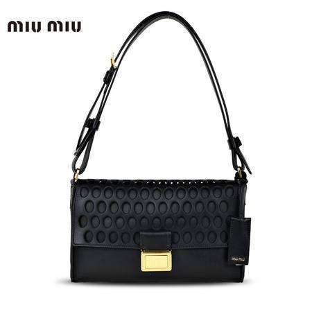 MiuMiu 单肩斜挎包 黑色 RR1959