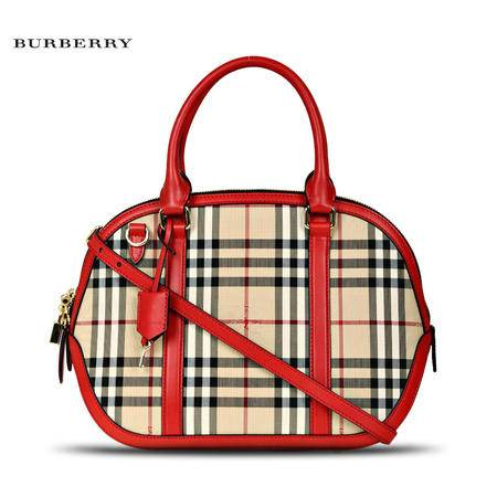 Burberry SM Orchard刺绣手拎包# 3939337