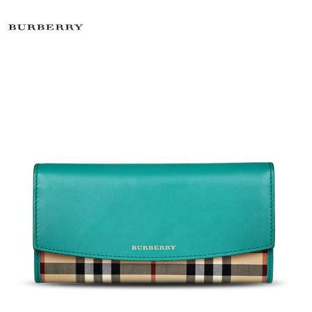Burberry Porter 格纹长款钱夹H#