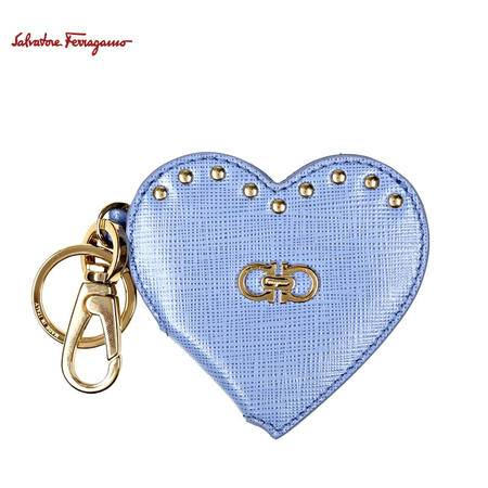 S.Ferragamo 心型照片夹钥匙扣#