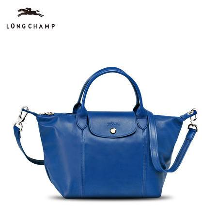 Longchamp 小羊皮折叠短柄1512#